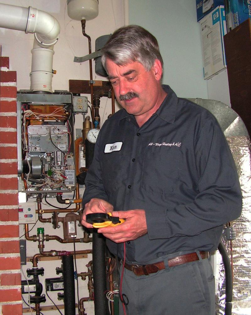 furnace replacement in Everett